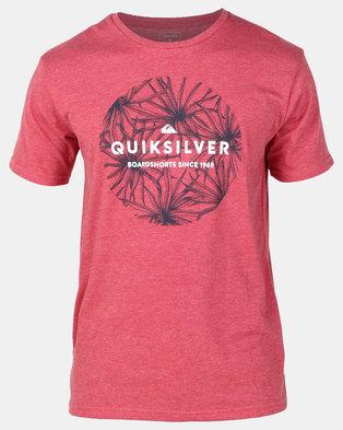 Quiksilver Classic Bob T-Shirt Red