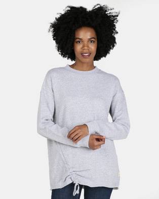All About Eve Ruche & Gather Jumper Grey