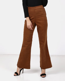 Utopia Cord Wide Leg Pants Hazel