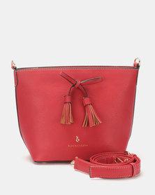 Blackcherry Bag Mini Bucket Bag Deep Red
