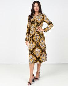 Utopia Animal Print Shirt Dress Baroque