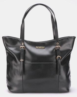 Blackcherry Bag Fierce Tote Bag Black