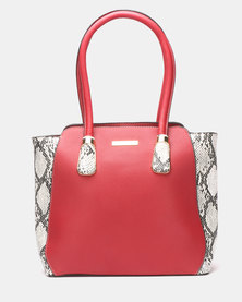 Blackcherry Bag Slither Tote Bag Red
