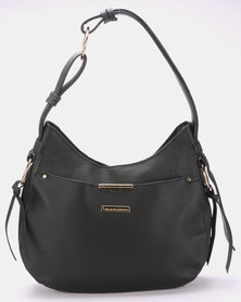 Blackcherry Bag Slouchy Shoulder Bag Black