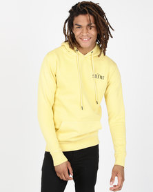 Silent Theory Straight Up Hoodie Yellow