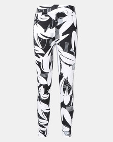 Puma Sportstyle Core Alpha AOP Leggings Black-White