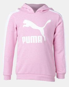 Puma Sportstyle Core Classics T7 Hoodie G Pale Pink