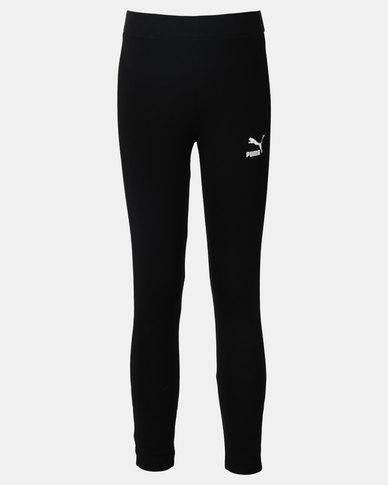 Puma Sportstyle Core Classics T7 Leggings Black