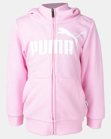 Puma Sportstyle Core ESS Hooded Jacket Pale Pink