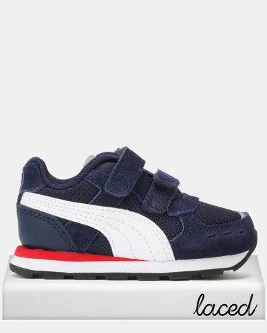Puma Sportstyle Core Peacoat Vista V Infant Sneakers Blue