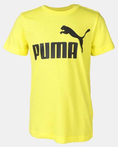 Puma Sportstyle Core ESS Logo Tee B Yellow