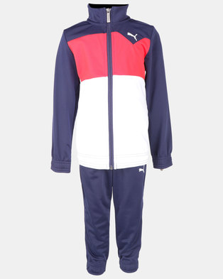 Puma Sportstyle Core Peacoat Tricot Suit Blue