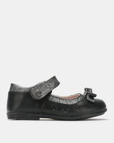 Bubblegummers Girls Casual Shoes Black