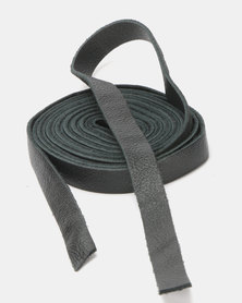 non-european® Skinny Wrap Belt Black