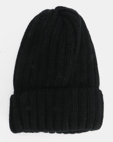 Utopia Kids Basic Beanie Black