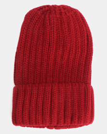 Utopia Kids Basic Beanie Burgundy