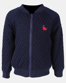 Utopia Toddler Basketball Jacket Navy