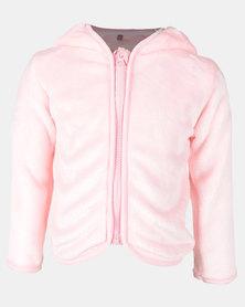 Utopia Toddler Girls Teddy Ears Jacket Pink