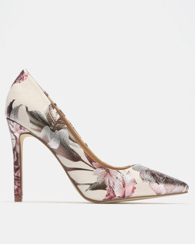 Madison Katinka Courts Silver Floral