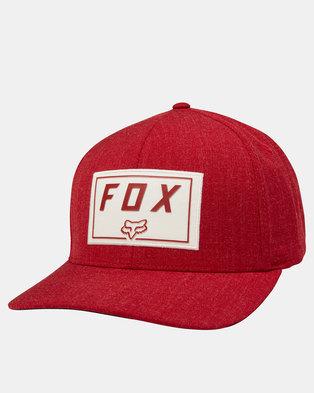 Fox Trace Flexfit Cap Cardinal