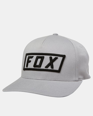 Fox Boxer Flexfit Cap Steel Grey