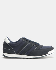 North Star Retro Sneakers Navy