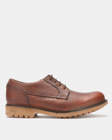Bronx Men Sasso Lace Up Shoes Oatmeal