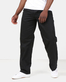 Oakhurst Classic 2 Pleat Chinos Black