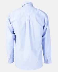 Oakhurst Woven Chambray Shirt Denim Blue