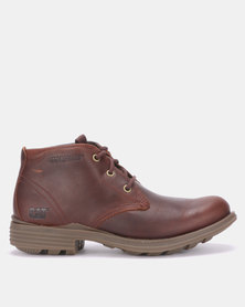 Caterpillar Grays River Festival Boots Brown