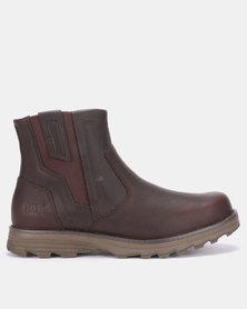CATERPILLAR Converge Boots Brown