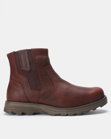 CATERPILLAR Converge Boots Tan