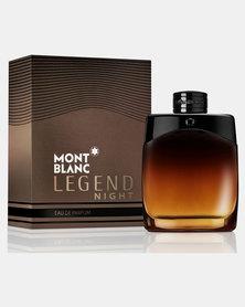 Mont Blanc Legend Night Pour Homme Brown