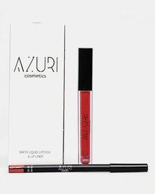 Azuri Tay Tay Lip Kit Red