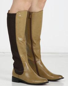 PLUM Arizona Long Boots Brown