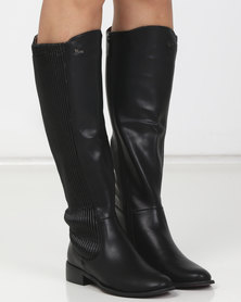 PLUM Arizona Long Boots Black