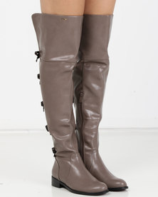 PLUM OTK Boots Taupe