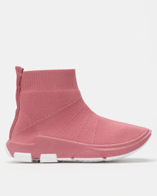 Urban Kulture Sock Boots Rose