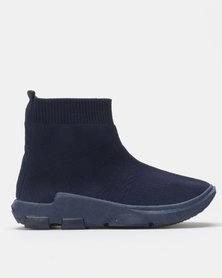 Urban Kulture Sock Boots Navy