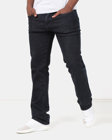 Lee Cooper M Kirsten Regular Fit Fashion Denim Blue Black
