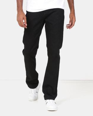 0a687b1f Lee Cooper M Jack Regular Fit Fashion Denim Jeans Black
