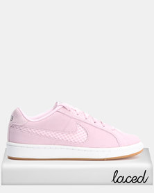 Nike Womens Court Royale Premium Pink Foam/Black
