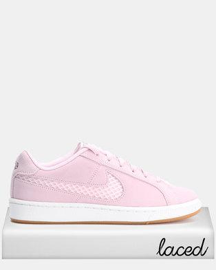 Nike Womens Court Royale Premium Pink Foam/Black