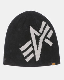Alpha Industries Jack Reversible Beanie Black