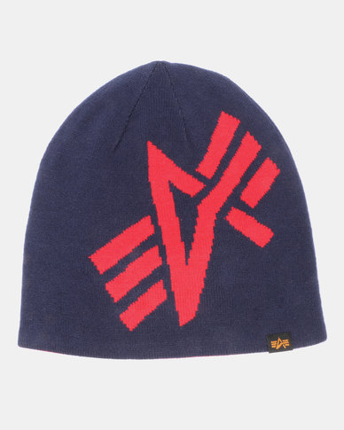 Alpha Industries Jack Reversible Beanie Navy