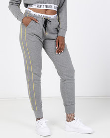 Silent Theory Element Track Pants Grey
