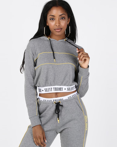 Silent Theory Element Hoodie Grey