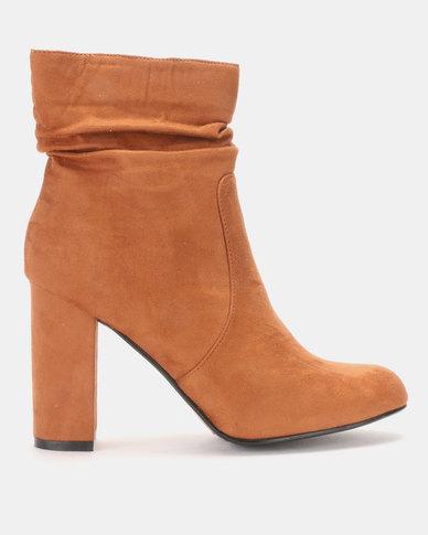LaMara Shuffle Ankle Boots Brown