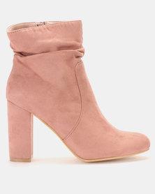 LaMara Shuffle Ankle Boot Pink