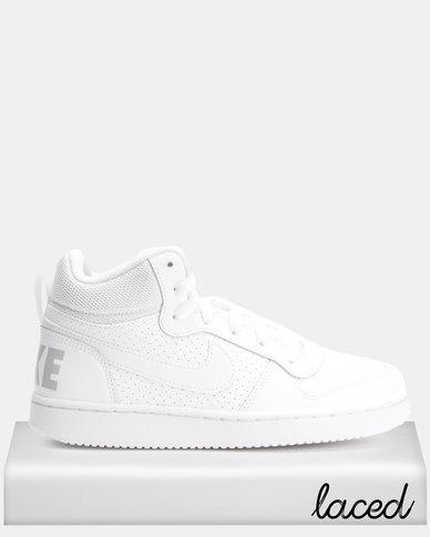 075fbeb8f9428 Nike Court Borough Mid BG Sneakers White | Zando